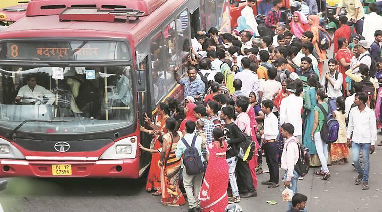 DTC Bus in Delhi